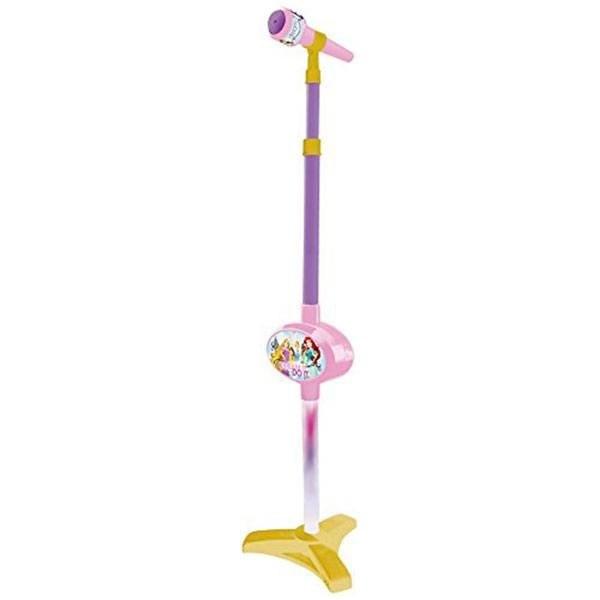 Micrófono Juguete De Pie Disney Princesas Con Amplificador