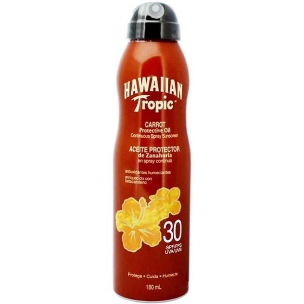Hawaiian Tropic Protector Solar Spray FPS 30 Carrot Oil 180ml