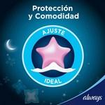 Toallitas Higienicas Always Noches Tranq Seca X 8 Unidades  #4