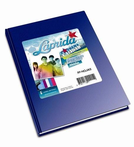 Cuaderno Laprida Araña Azul x 50 hojas