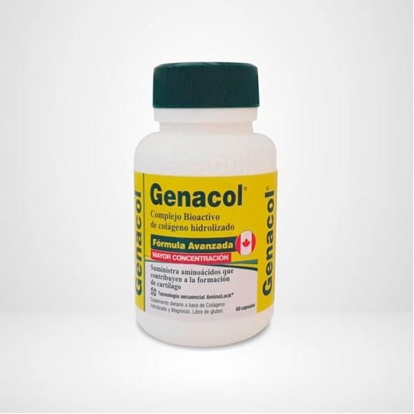 Suplemento Genacol Formula Original 60 Cápsulas