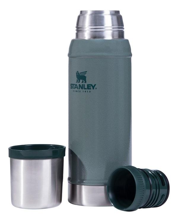 Termo Acero Inoxidable Stanley 750 ml Clasico Small (verde)