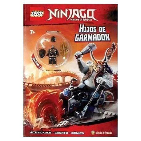 Ninjago Los Hijos De Garmadon Libro Lego