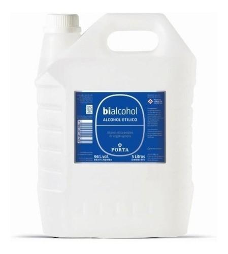 Bialcohol Porta 96% Bidon x 5 Litros