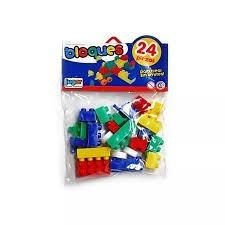 Juguete Kit De Bloques x24