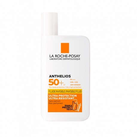 Protector Solar La Roche-Posay Anthelios Fluido Invisible FPS 50+ x 50 ml  #1