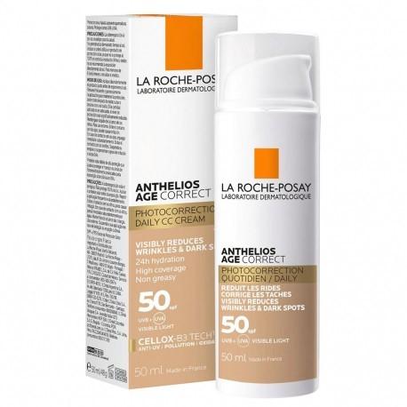 La Roche Posay Anthelios Age Correct Fps 50 Con Color
