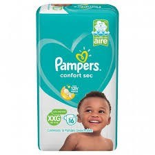 Pampers Confort Sec Mega-pack XXG x16