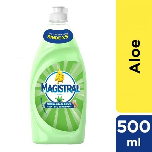 Magistral, detergente de Aloe 500 ml