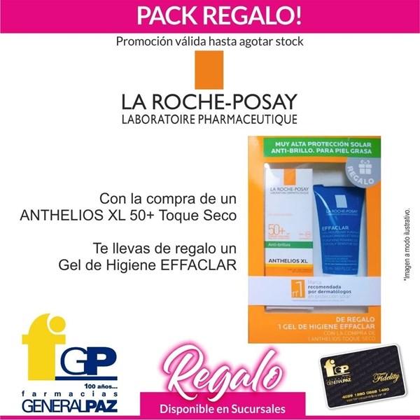 La Roche Posay Anthelios Protector Solar Fps50 Gel Crema Con Color Toque Seco. Pack Regalo!