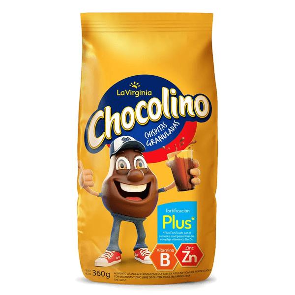 CHOCOLINO LA VIRGINIA FORT. x 360 G