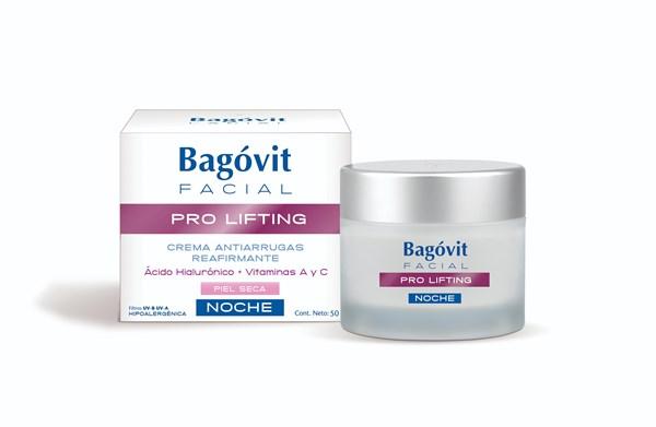 Bagovit Facial Pro Lifting Noche Crema Piel Seca X 55 Gr