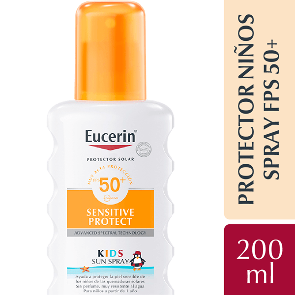 Eucerin Sun Kids Spray Fps 50+ 200ml