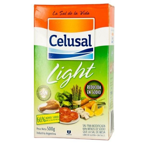 SAL FINA CELUSAL LIGHT x 500 G