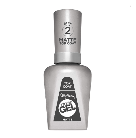 Top Coat Matte- Sally Hansen Esmalte Miracle Gel