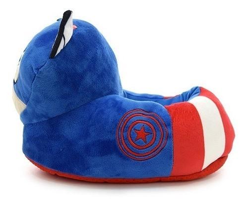 Pantuflas Phi Phi Toys Capitán America Con Luz alt
