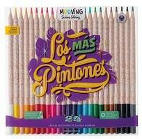 Lápices Mooving De Colores Por 24 Unidades