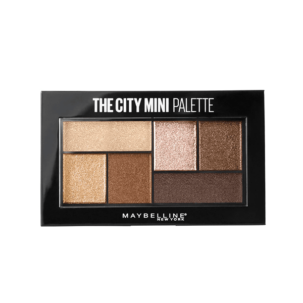 Maybelline Paleta De Sombras The City Mini Palette 400 Rooftop Bronzes