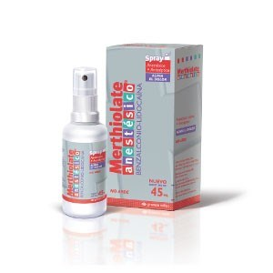 Merthiolate Anestesico Spray X 45 Ml