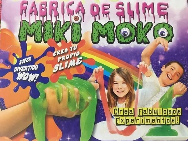 Kit Fábrica De Slime Miki Moko