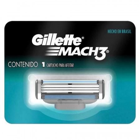 Gillette Repuesto Mach 3 En Cartón x 1unid.