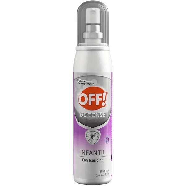 Off Repelente Spray Infantil x100ml
