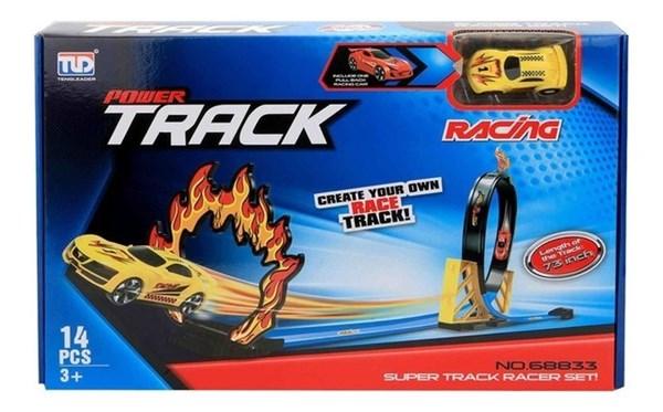 Autito Con Pista Power Track