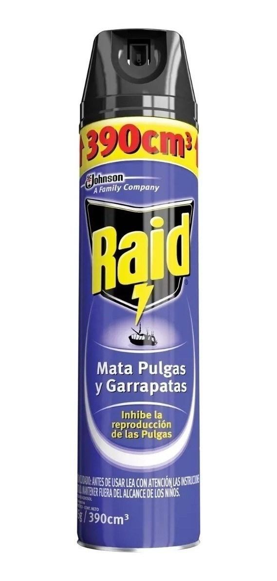 INSECT.RAID M.PULGAS Y GARRAPATAS x 360 CC