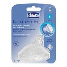Chicco Tetina Natural Feeling 0m+ x2