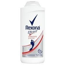 Rexona Efficient Talco Pédico Antibacterial x100g