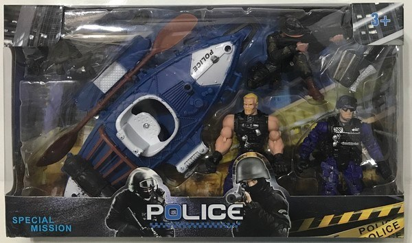Set Policia Special Mission Juguete