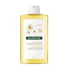Shampoo Klorane Camomilla Reflejos Rubios Ilumina 400 Ml