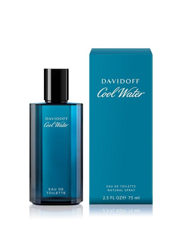 Perfume Davidoff Cool Water Men  x 75 ml.