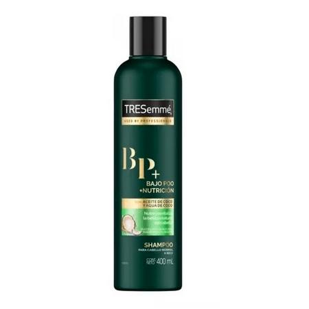 Tresemmé Shampoo Bajo Poo + Nutrición 400ml - 70%off 2da Unidad