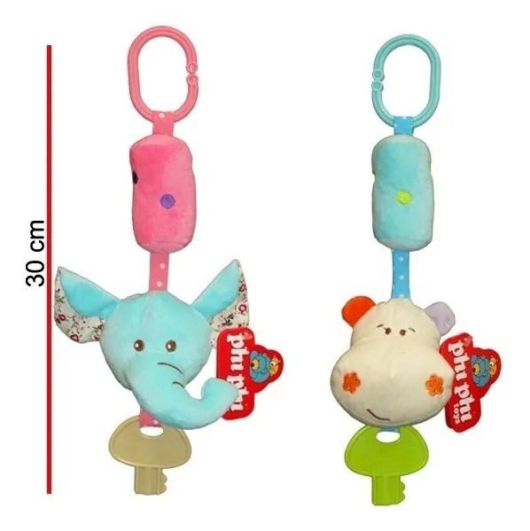 Sonajero Animalitos Con Llave Phi Phi Toys