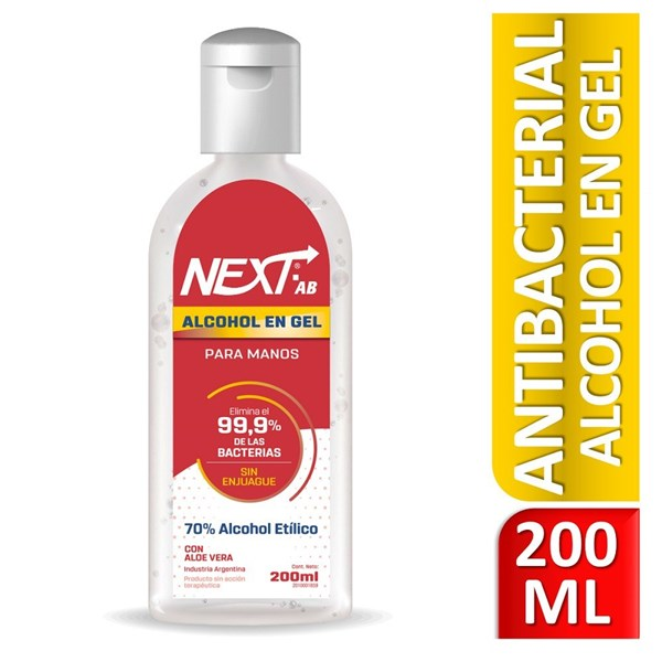 Next Alcohol En Gel AB Neutro 200ml