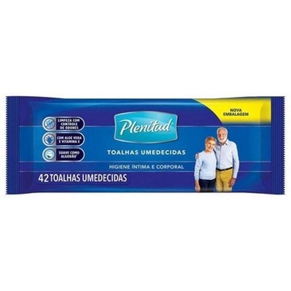 Toallas Húmedas Cuidado Del Adulto Plenitud  x 42 uns