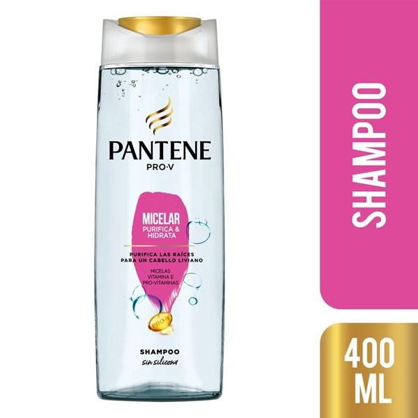 Shampoo Pantene Micelar Purifica E Hidrata X 400 Ml