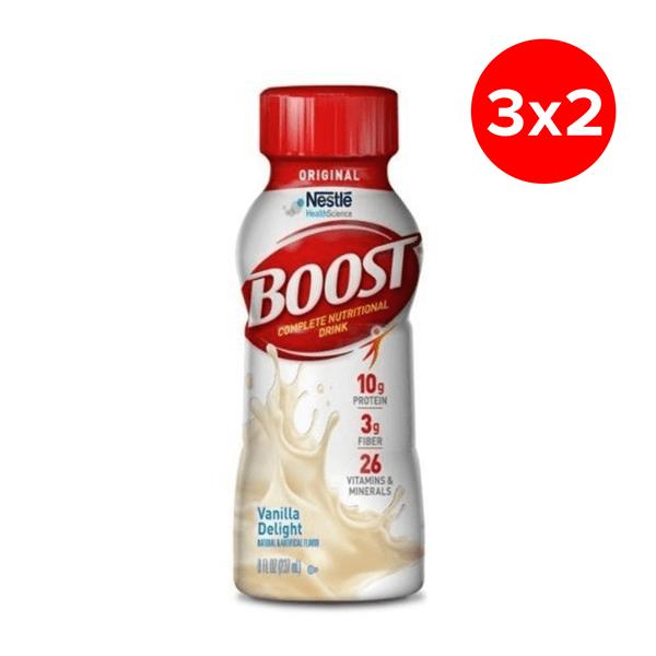 Boost Suplemento Nutricional Vainilla 237 ml Nestle 3X2