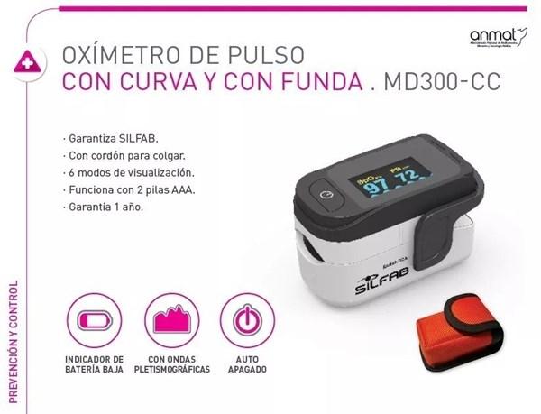 Oximetro de pulso Silfab  alt