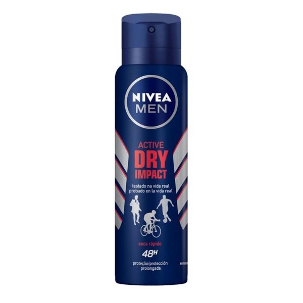 Nivea Antitranspirante x 150ml M Dry Impact Plus