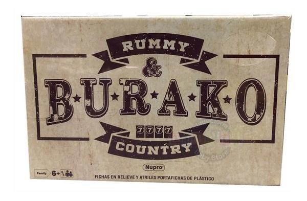 Rummy & Burako Country Juego Burako