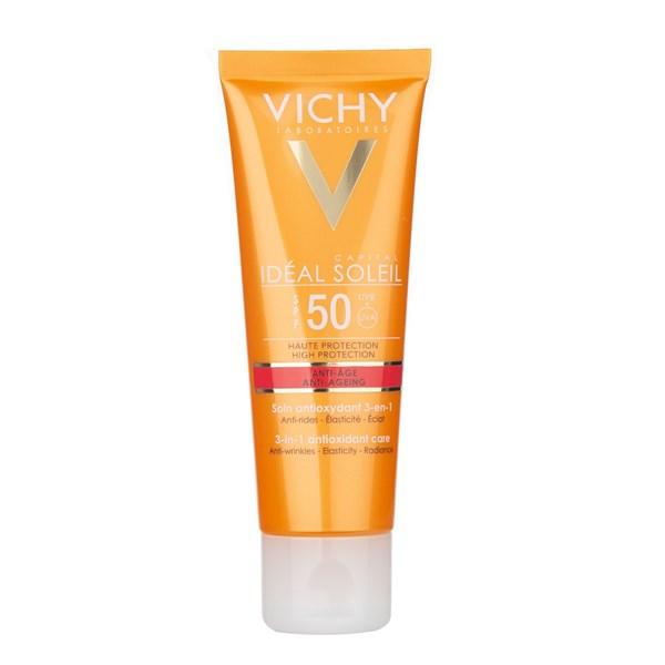 Vichy Ideal Soleil Anti Age Fps 50 X 50 Ml