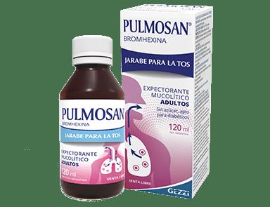 Pulmosan Bromhexina- Jarabe Para la Tos