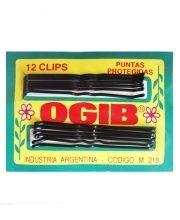Clips OGIB Largo Para Pelo Negro