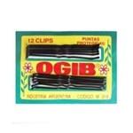 Clips OGIB Largo Para Pelo Negro  #1