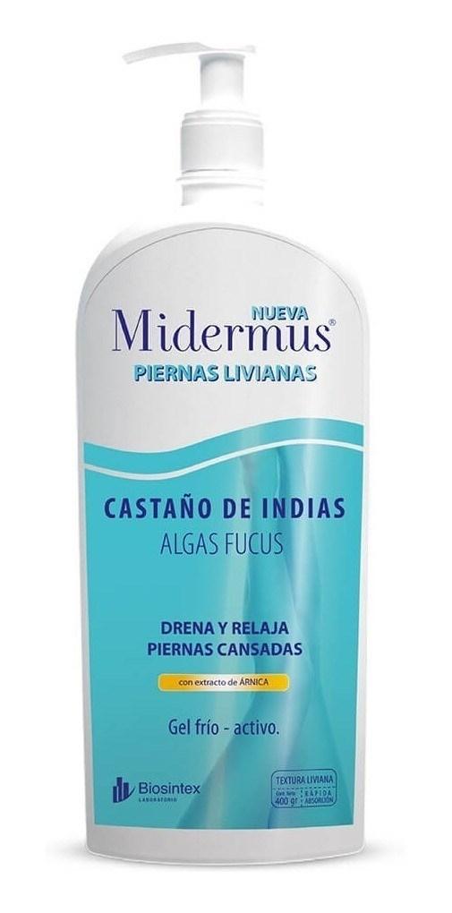 Midermus Gel Piernas Livianas Castaño de Indias x 400 gr #1