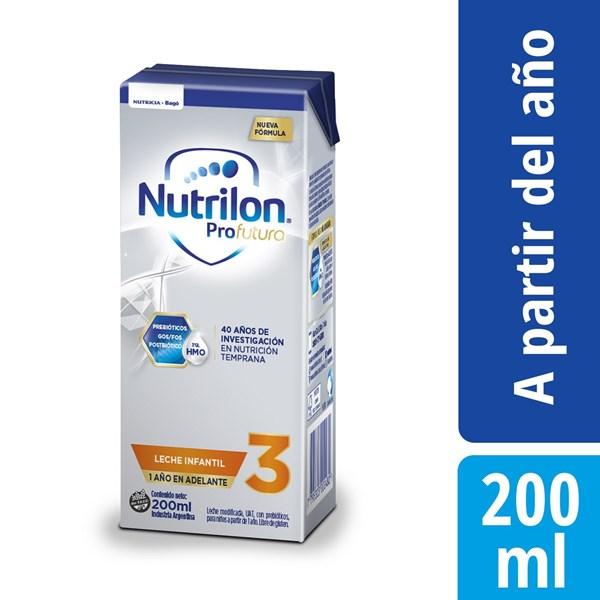 Leche Nutrilon 3 Pro Futura Brick X 200 Ml