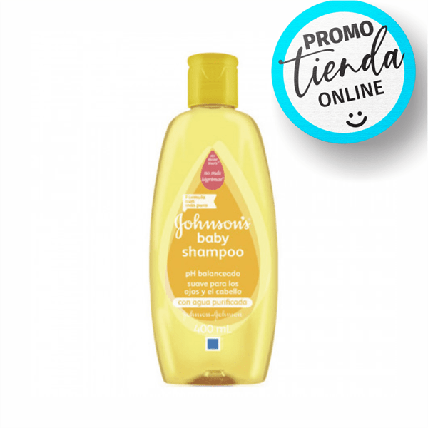 Johnson's Baby Shampoo Ph Balanceado x400ml