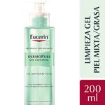 Eucerin Dermopure Oil Control Gel Limpiador X 200 Ml #1